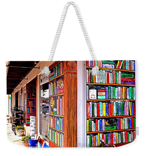 Rehoboth Beach Browseabout Books Weekender Tote Bag