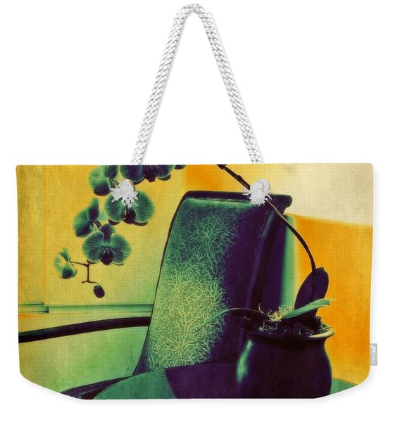 Weekender Tote Bag featuring the photograph Relax by Patricia Strand
