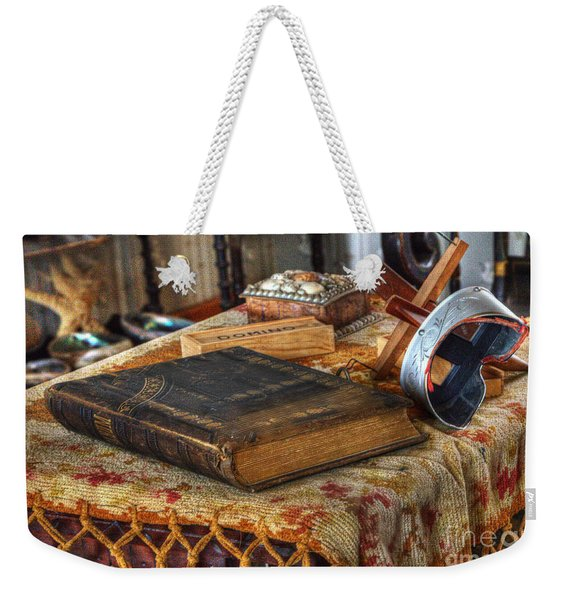 Relics Of A Lighthouse Keeper Weekender Tote Bag