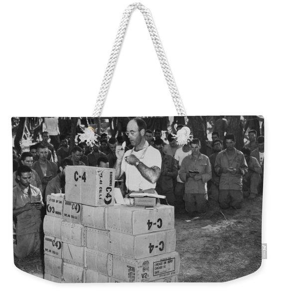 Religion In War Weekender Tote Bag