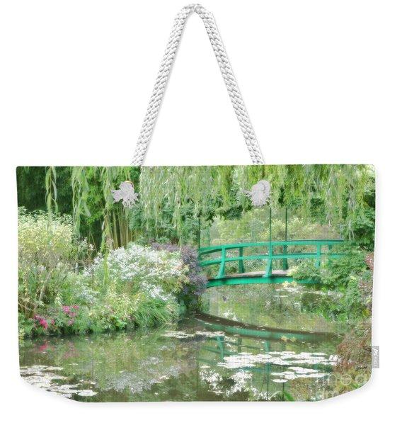 Remembering Monet  Weekender Tote Bag