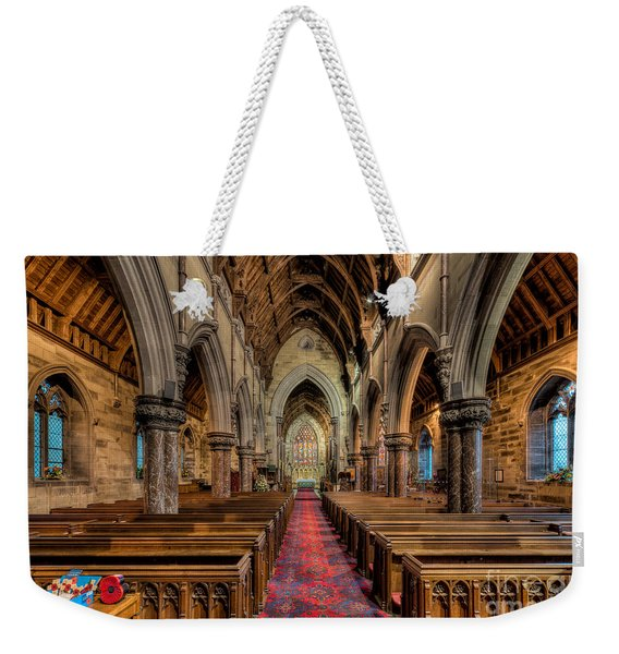 Remembrance Day Poppies Weekender Tote Bag