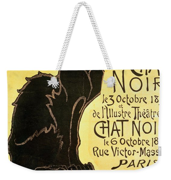 Reopening Of The Chat Noir Cabaret Weekender Tote Bag