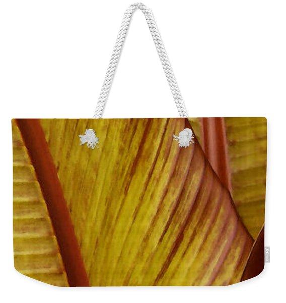 Repose - Leaf Weekender Tote Bag