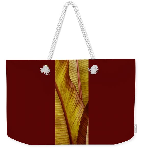 Repose - Leaf Weekender Tote Bag