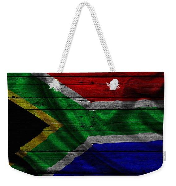 Republic Of South Africa Weekender Tote Bag