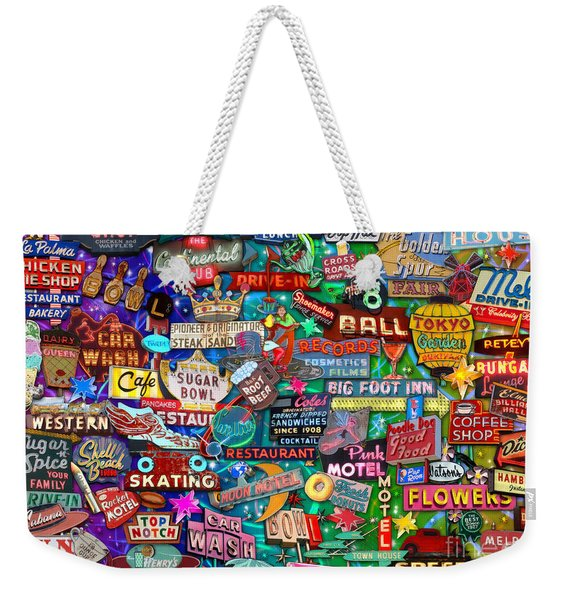 Reto Neon Dream Weekender Tote Bag