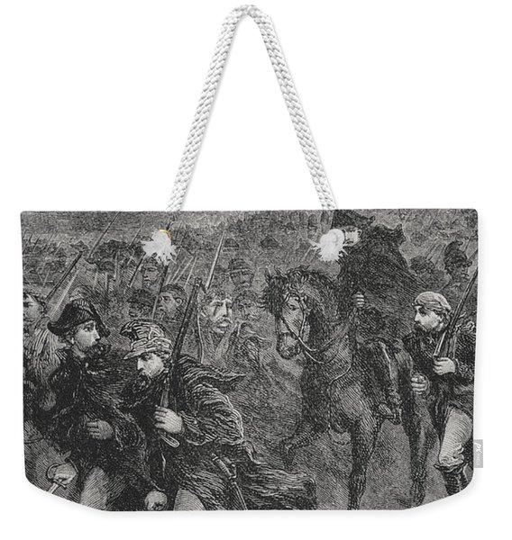 Retreat From Moscow Weekender Tote Bag