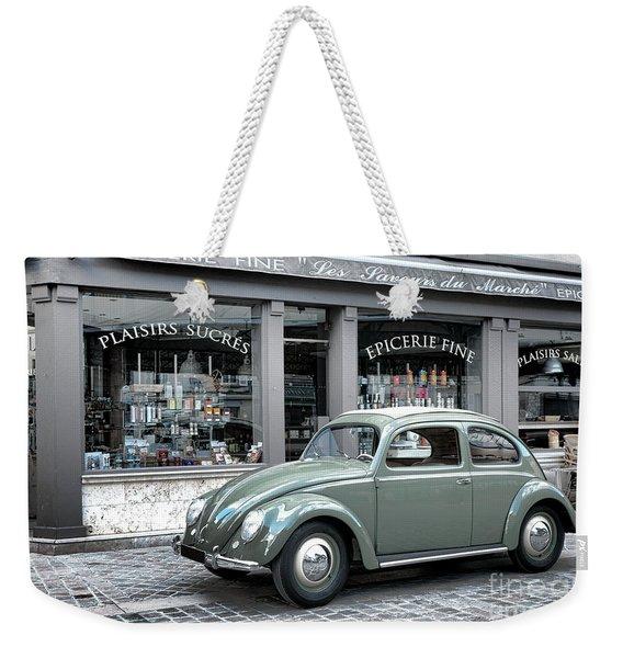 Retro Beetle Weekender Tote Bag