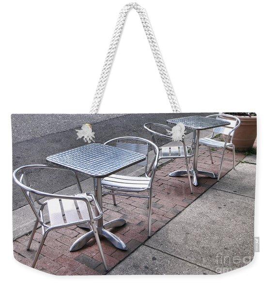 Retro Cafe Weekender Tote Bag