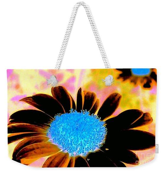 Retro Daisy Weekender Tote Bag