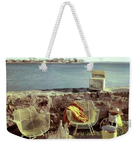 Retro Outdoor Furniture Weekender Tote Bag