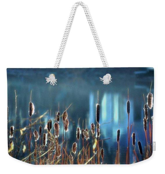 Rhapsody In Blue Weekender Tote Bag