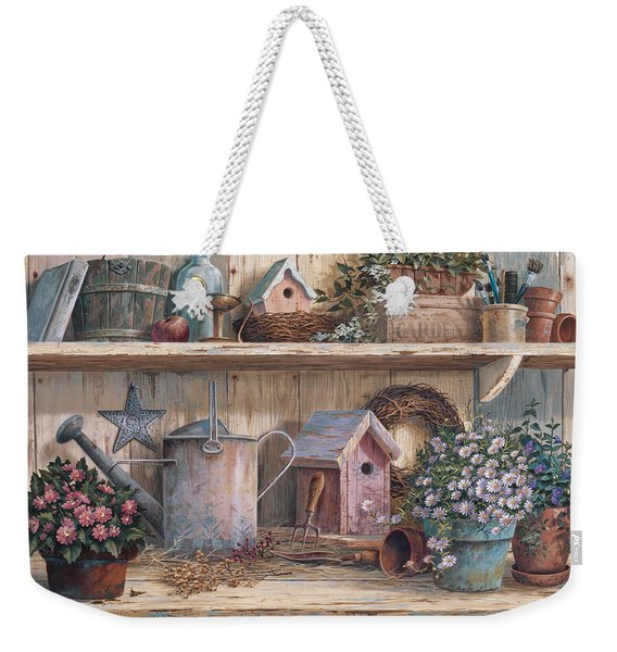 Rhapsody In Rose Weekender Tote Bag