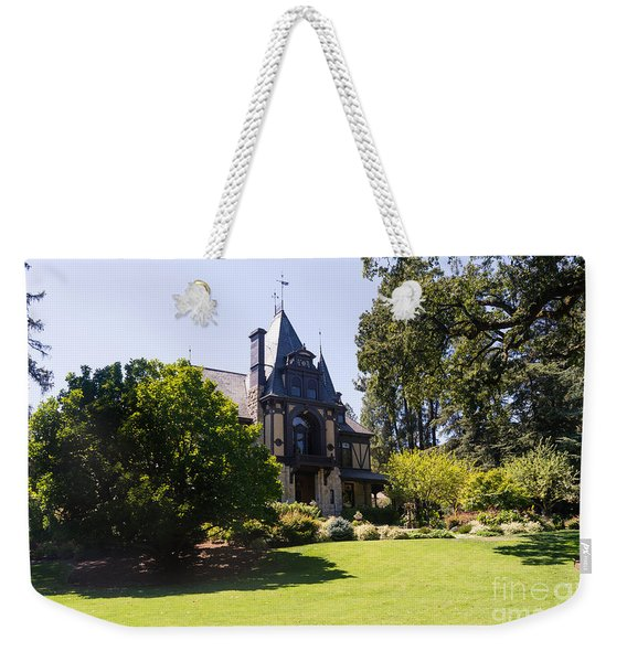 Rhine House At Beringer Winery St Helena Napa California Dsc1722 Weekender Tote Bag