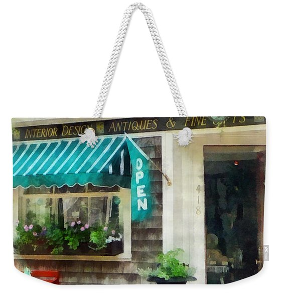 Rhode Island - Antique Shop Newport Ri Weekender Tote Bag