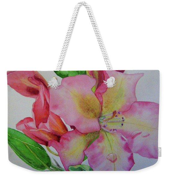 Rhodie With Dew I Weekender Tote Bag