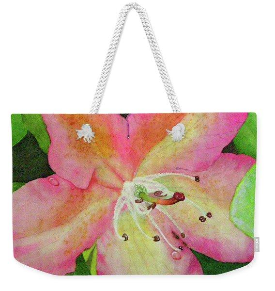 Rhodie With Dew II Weekender Tote Bag