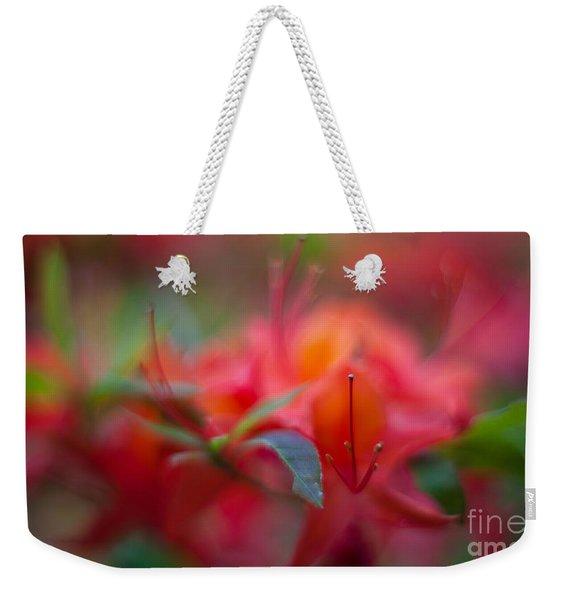 Rhododendron Color Dream Weekender Tote Bag