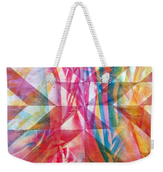 Rhythm And Flow Weekender Tote Bag