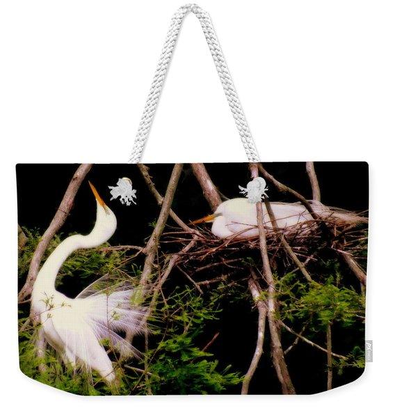 Rhythm Of Nature Weekender Tote Bag