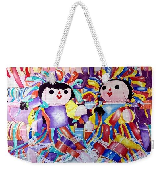 Ribbon Shoppin Weekender Tote Bag