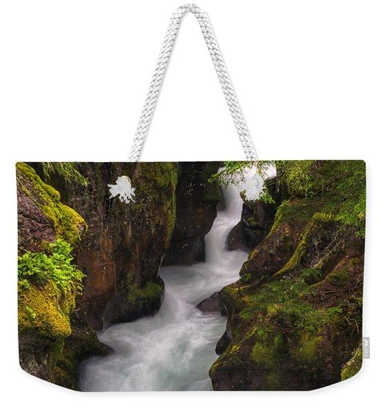 Ribbons Of Glacier Weekender Tote Bag