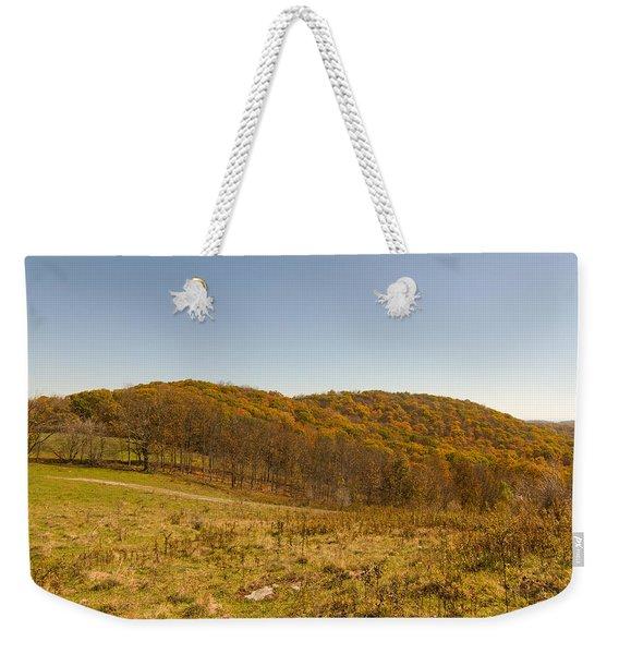 Rich Mountain Autumn Weekender Tote Bag