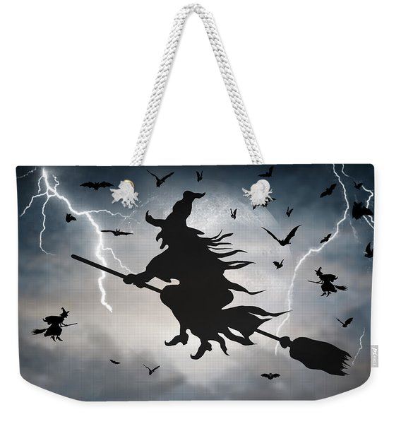 Ride Like Lighting Weekender Tote Bag