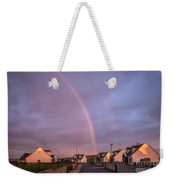 Ride To The Rainbow's End Weekender Tote Bag