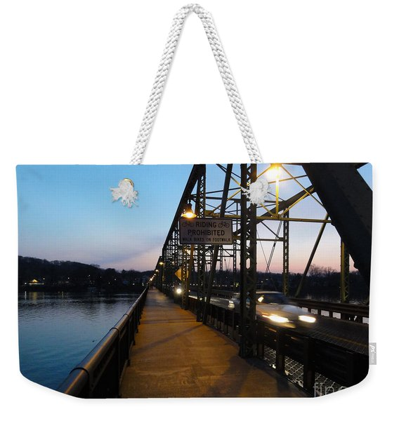 Riding Prohibited Weekender Tote Bag