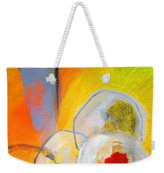 Rings Abstract Weekender Tote Bag