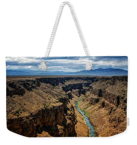 Rio Grande Gorge 1 Weekender Tote Bag