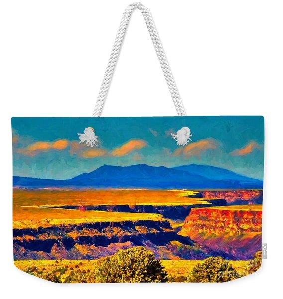 Rio Grande Gorge Lv Weekender Tote Bag