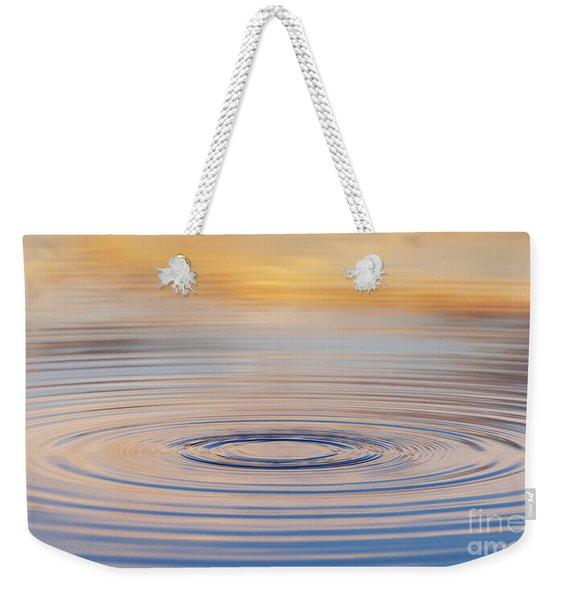 Ripples On A Still Pond Weekender Tote Bag