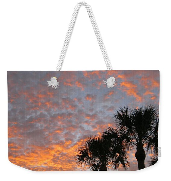 Rise And Shine. Florida. Morning Sky View Weekender Tote Bag
