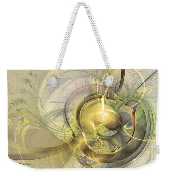Rising - Abstract Art Weekender Tote Bag