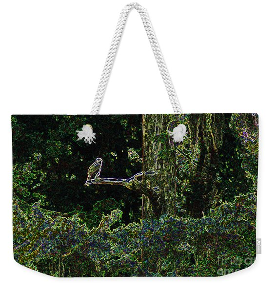 River Bird Of Prey Weekender Tote Bag