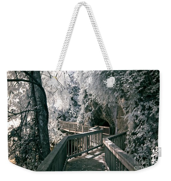 River Boardwalk Weekender Tote Bag