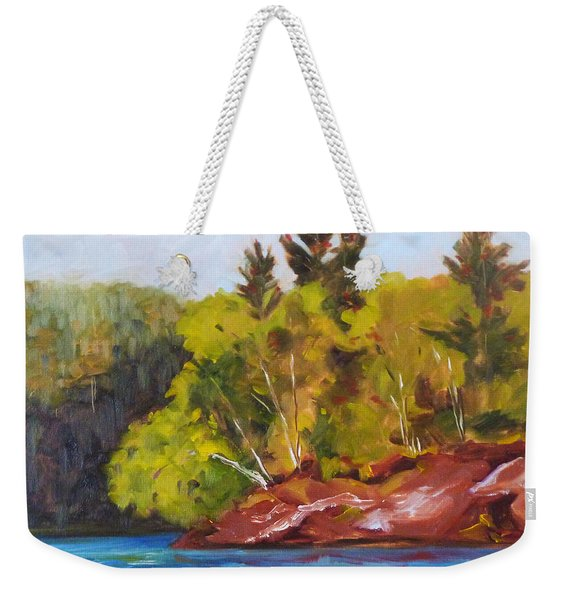 River Point Weekender Tote Bag