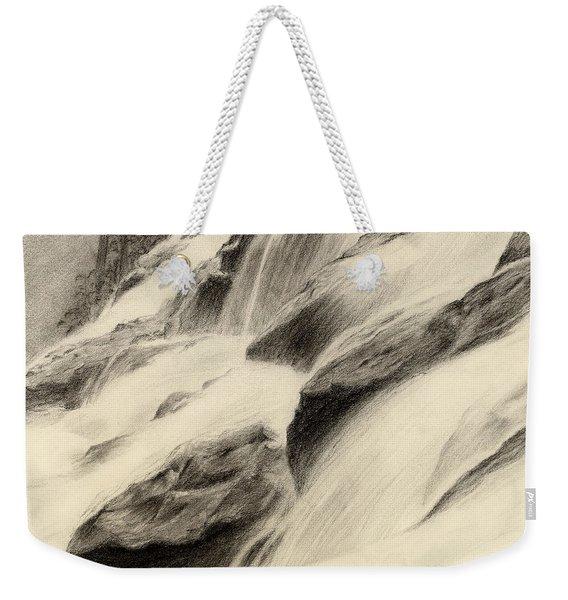 River Stream Weekender Tote Bag