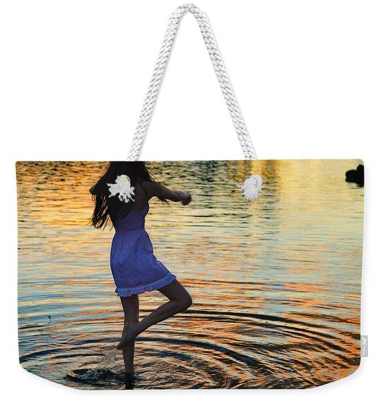 Riverdance Weekender Tote Bag