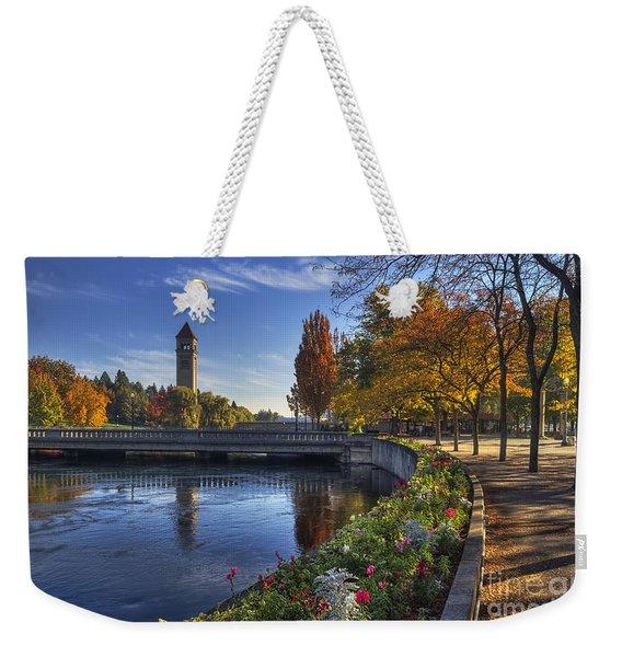 Riverfront Park - Spokane Weekender Tote Bag