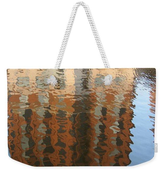 Riverwalk Reflection Weekender Tote Bag