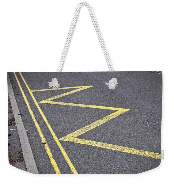 Road Markings Weekender Tote Bag