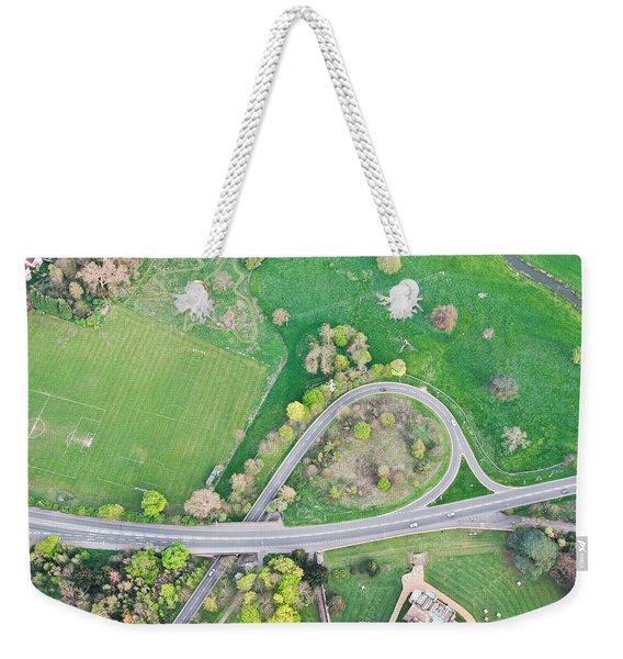 Road System Weekender Tote Bag