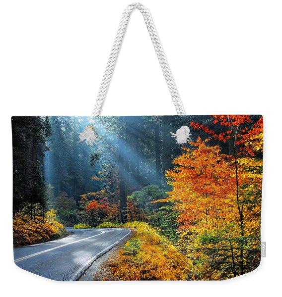 Road To Glory  Weekender Tote Bag