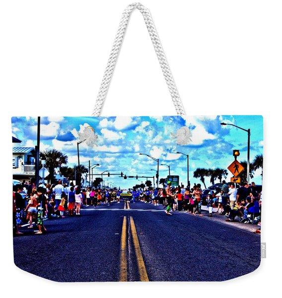 Road To Infinity Weekender Tote Bag