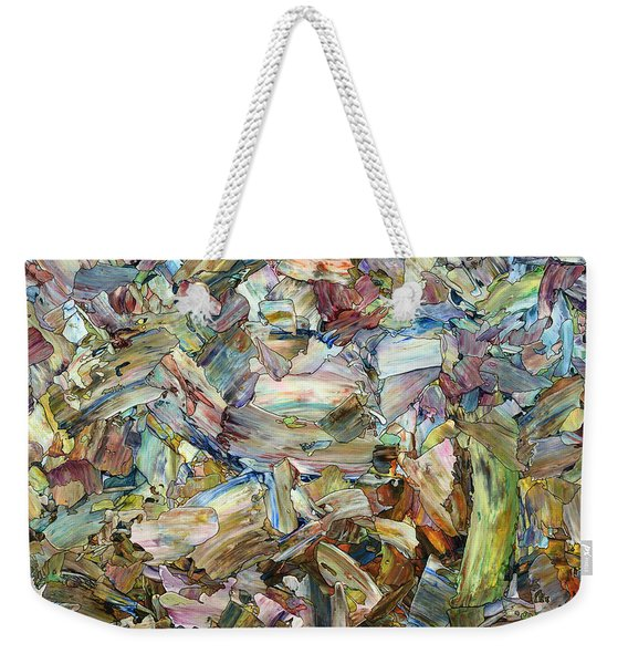 Roadside Fragmentation - Square Weekender Tote Bag