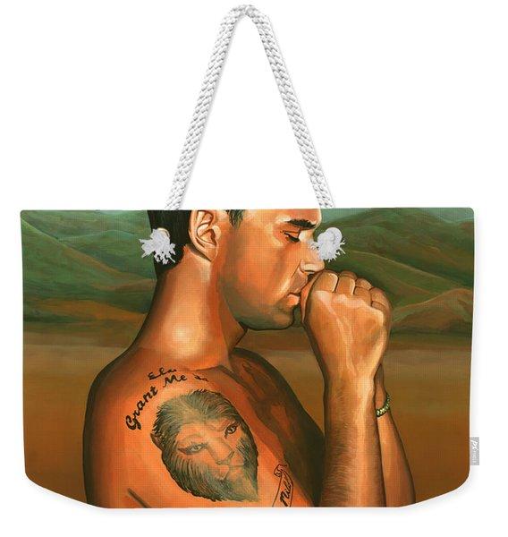 Robbie Williams 2 Weekender Tote Bag